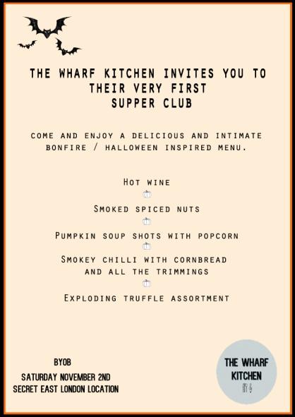 WHARF KITCHEN INVITE